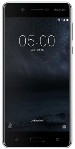 Смартфон NOKIA 5 Dual Sim Silver