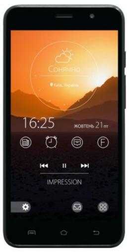 Смартфон Impression ImSmart C502 Dark Blue