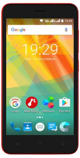 Смартфон Prestigio Wize G3 Red (PSP3510DUORED)