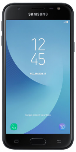 Смартфон Samsung Galaxy J3 2017 Duos Black (SM-J330FZKD)