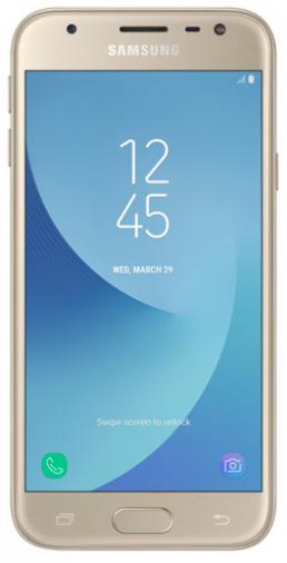 Смартфон Samsung Galaxy J3 2017 Duos Gold (SM-J330FZDD)