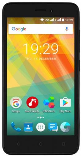 Смартфон Prestigio Wize G3 Black (PSP3510DUOBLACK)