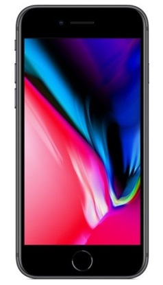 Смартфон APPLE iPhone 8 256GB Space Gray (MQ7C2)