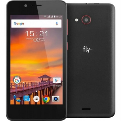 Смартфон FLY FS458 Black
