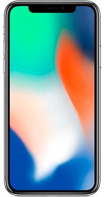 Смартфон Apple iPhone X 256GB Silver (MQAG2)