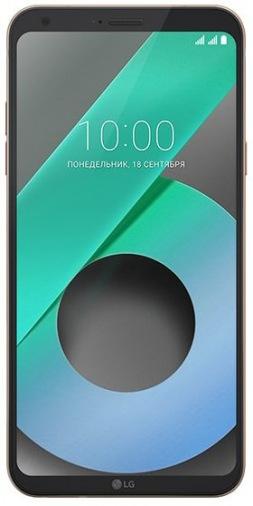 Смартфон LG Q6 Prime 3/32GB Gold (LGM700AN.ACISKG)