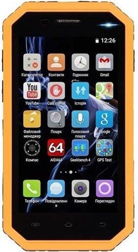 Смартфон 2E E450R DualSim Yellow