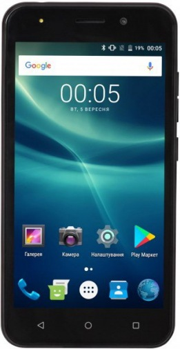 Смартфон TWOE E500A DS Black
