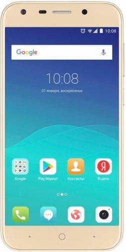 Смартфон ZTE BLADE A6 Gold