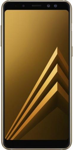 Смартфон SAMSUNG Galaxy A8+ SM-A730FZKD DS Gold