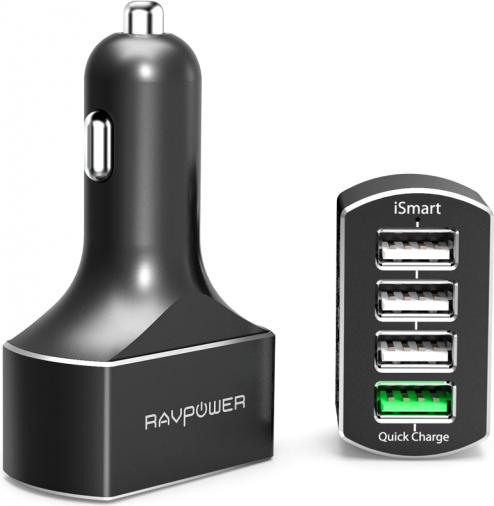 Автомобильное зарядное устройство RavPower USB RP-VC003