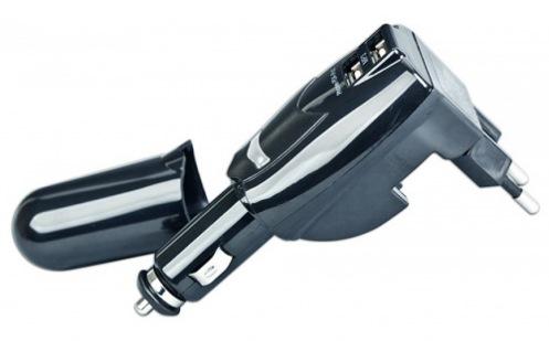 Автомобильное зарядное устройство Gembird MP3A-UC-ACCAR Black