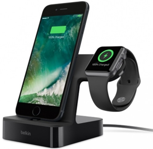 Док-станция Belkin Valet for Apple Watch /iPhone (F8J200vfBLK)