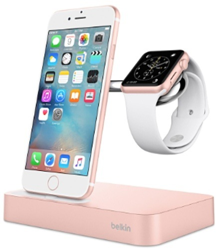 Док-станция Belkin Charge Dock iWatch+iPhone (F8J183vfC00)