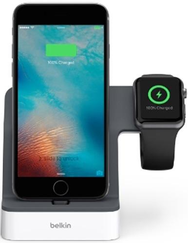Док-станция Belkin PowerHouse iWatch + iPhone (F8J200vfWHT)