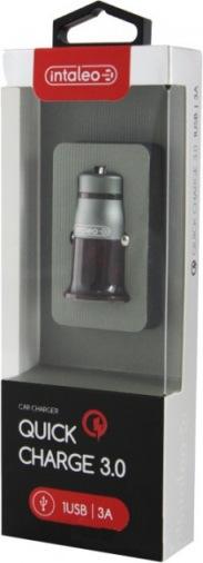 Авто зарядное устройство Intaleo CCGQ31 (1USB3A) Black