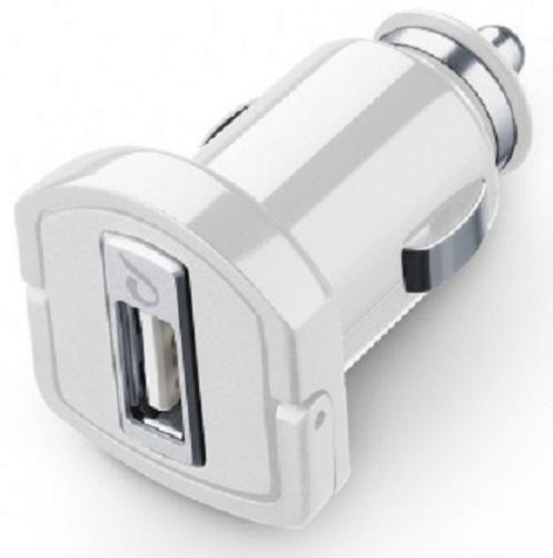 Автомобильное ЗУ CellularLine USB 2A white (MICROCBRUSB2AW)