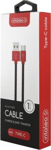 Кабель Intaleo CBGPLT1 USB-Type-C/1м/К/Red