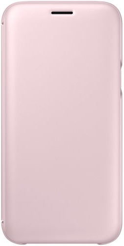 Чeхол Samsung Wallet Cover for J5 2017 Pink (EF-WJ530CPEGRU)