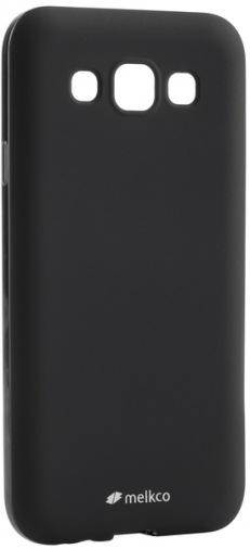 Чехол MELKCO Poly Jacket TPU Samsung E5 Black (SSGLE5TULT2BKMT)