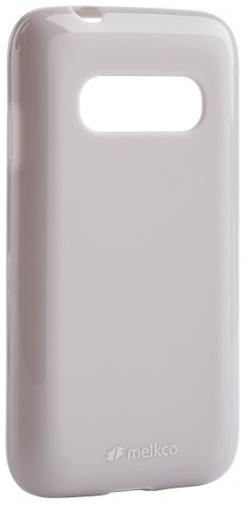 Чехол MELKCO Poly Jacket TPU Samsung G310/Ace 4 Grey (SSAC31TULT2GYPL)