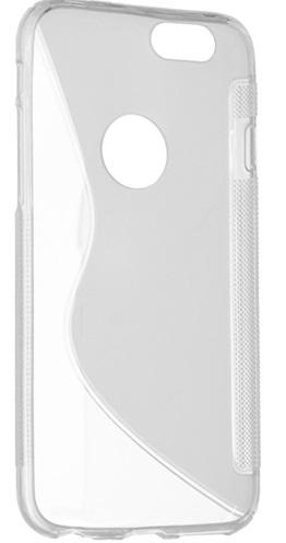 Чехол DIGI S-Line TPU iPhone 6/6S Transparent (6315364)