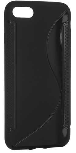 Чехол DIGI S-Line TPU iPhone 7 Black (6315365)