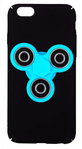 Накладка BeCover Apple iPhone 6/6s Black-Blue