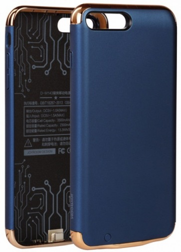Накладка BeCoverApple iPhone 7+ Black-Blue