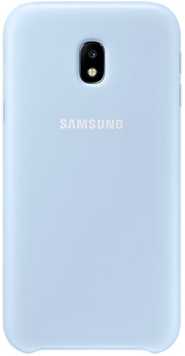 Чeхол Samsung Dual Layer Cover for J3 2017 Blue (EF-PJ330CLEGRU)