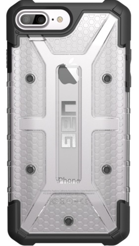 Чехол UAG iPhone 7 Plus/6s Plus Ice (Transparent)