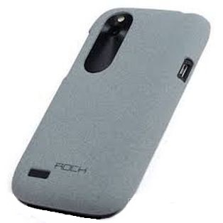 Чехол ROCK для HTC Desire V light grey