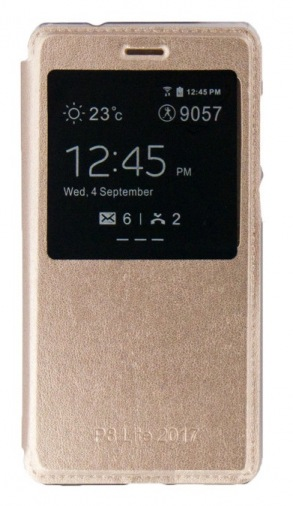 Чохол FB Dengos Huawei P8 lite (2017) Gold