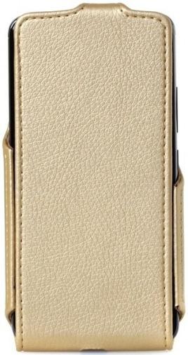 Чехол Flip Case Motorola Moto E Plus (XT1771) Gold