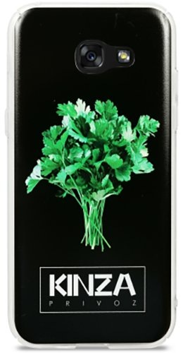 Чехол Avatti Samsung A520 (2017) Kinza Black