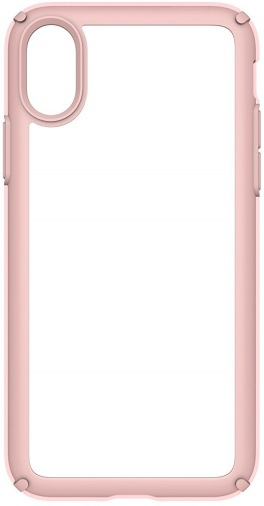 Чохол Speck iPhone X Presidio - Show Clear/Rose Gold