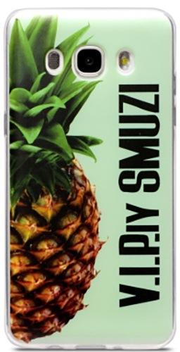 Чехол Utty Samsung J510 (2016) Thin Pineapple