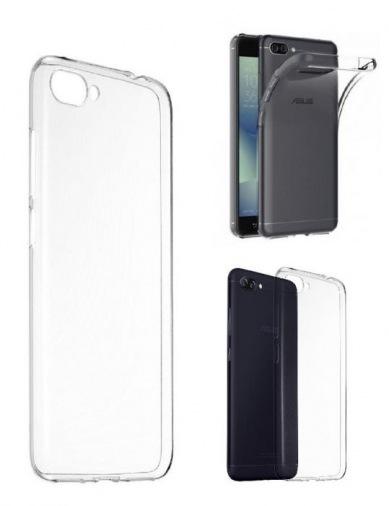 Чехол Asus ZenFone 4 Max Pro Soft Bumper Transparent (90AC02N0-BCS001)
