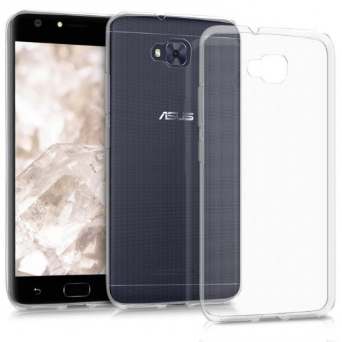 Чехол Asus ZenFone 4 Clear Soft Bumper Transparent (90AC02P0-BCS001)