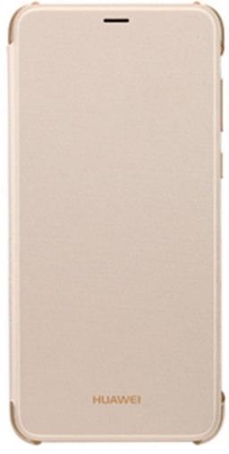 Чехол Huawei P Smart Flip Cover Gold