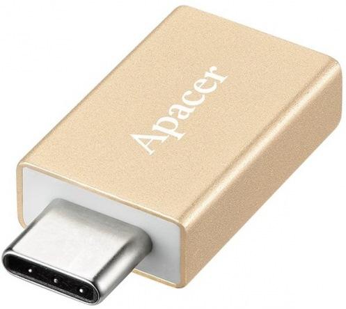 Адаптер APACER DA110 Type-C to USB3.0 Gold (APDA110C-1)