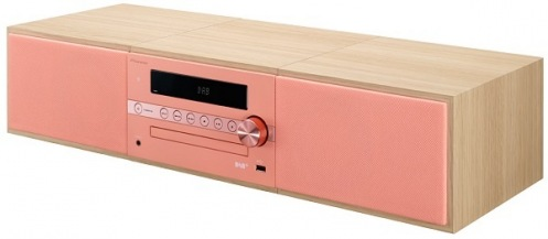 Музыкальный центр Pioneer X-CM56D-R Red