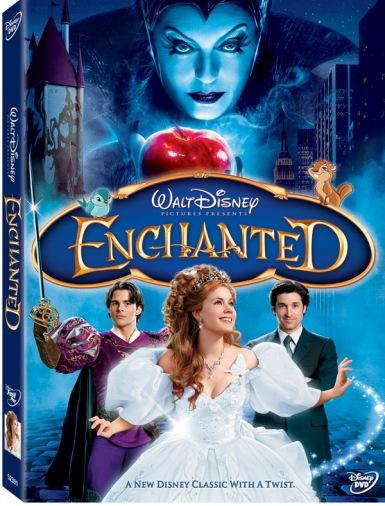 DVD Зачарована