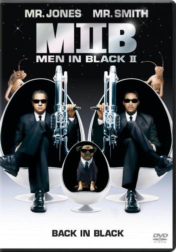 DVD Люди в чорному 2