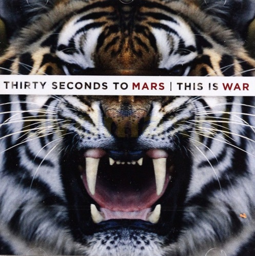 CD 30 SECONDS TO MARS -THIS IS WAR (ДкК)