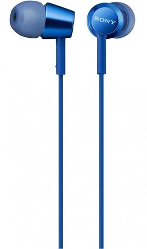 Наушники SONY MDR-EX155AP Blue (MDREX155APLI.E)
