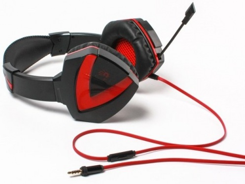 Гарнитура A4Tech G500 Bloody (Black+Red)