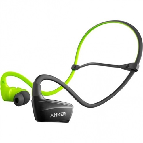 Наушники Anker SoundBuds Sport NB10 Black/Green (A3260HM1)