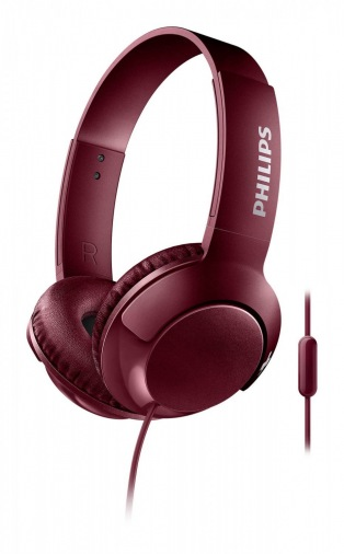 Наушники PHILIPS SHL3070BK Red (SHL3070RD/00)