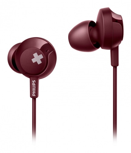Наушники PHILIPS SHE4305RD Red (SHE4305RD/00)